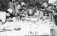 昭和59年第9回西日本洋菓子 コンテスト風景